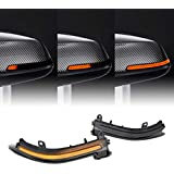 [Ultima] Dynamic Sequential Turn Signal Mirror LED Smoked Compatible with BMW 1/2/3/4 Series F20 F33 F30 F32 X1 i3