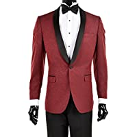 20 Best burgundy suits for men - Magazine cover