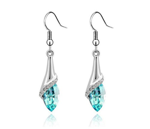Fashionable Simple Crystal Earrings, Fashionable Hypoallergenic Earrings, a Special Gift for Yourself(A)