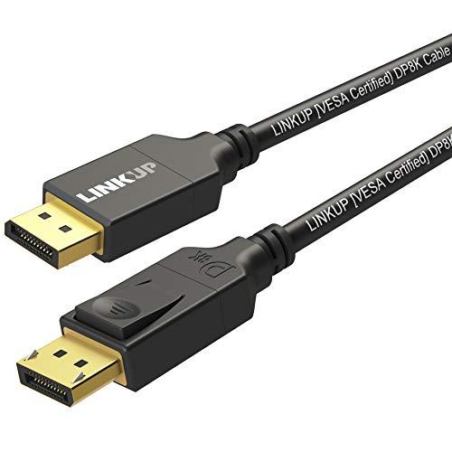 LINKUP - DisplayPort DP8K DP1.4 Cable (VESA Certificado) -HK