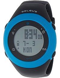 Unisex SG012-045 GPS Fly Digital Display Quartz Black Watch