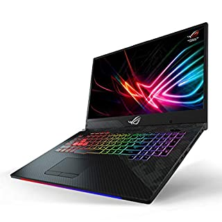 "ASUS ROG Strix Scar II Gaming Laptop, 17.3"" 144Hz IPS-Type FHD, NVIDIA GeForce RTX 2070 8GB, Intel Core i7-8750H Processor, 16GB DDR4 RAM, 512GB PCIe SSD + 1TB SSHD, RGB KB, Windows 10 - GL704GW-DS76 (Renewed)"
