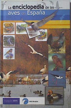 La enciclopedia de las aves de España: Amazon.es: Sociedad Española de Ornitología: Libros
