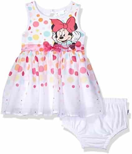 Disney Baby Girls Minnie Dress Set