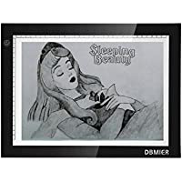 Tracing Light Box Dbmier A3 Ultra Thin Artcraft Tracing LED Light Pad for Drawing, Tracing, Sketching, Animation Active Area 12.20 X 16.93