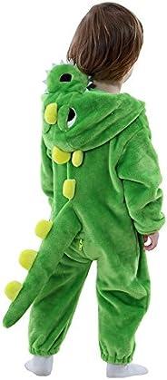 LOLANTA Infant Toddler Animals Romper Costume Fleece Dragon Holiday Birthday Gift
