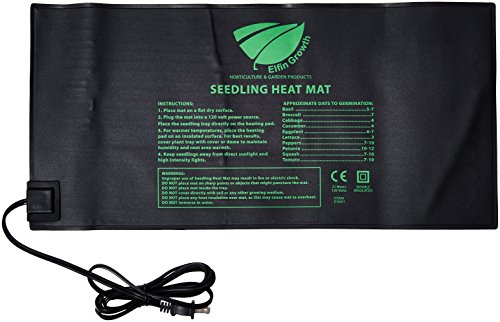 Elfin Growth Durable Waterproof Seedling Heat Mat Warm Hydroponic Heating Pad 10