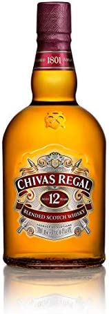 Whisky Chivas Regal 12 Anos, 1L