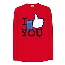Funny t shirts for kids Long sleeve I like You