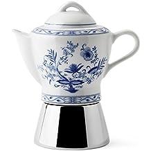 ANCAP Nicole Antique 4Cup Moka Pot Express Stovetop Espresso Coffee Maker (Vienna)