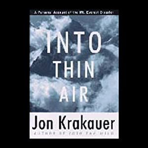 Into Thin Air | Livre audio