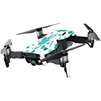 MightySkins Skin for DJI Mavic Air Drone - Teal Splatter | Min Coverage Protective, Durable, and Unique Vinyl Decal wrap cover | Easy To Apply, Remove, and Change Styles | Made in the USA