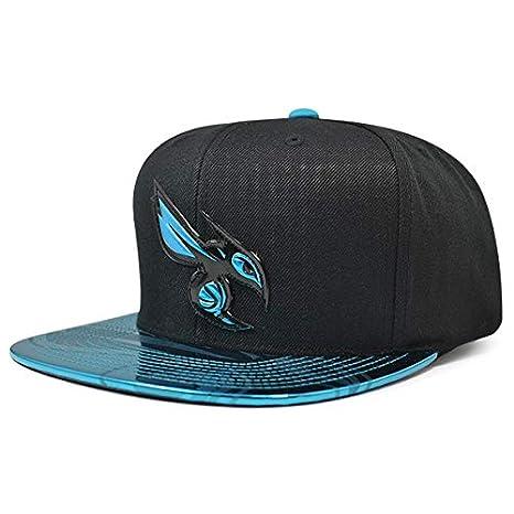 on sale 28508 29a79 ... release date mitchell ness charlotte hornets team standard snapback nba adjustable  hat black teal d4137 e79f2