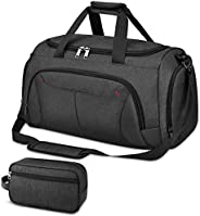 Gym Duffle Bag Waterproof Large Sports Bags Travel Duffel Bags with Shoes Compartment Weekender Overnight Bag