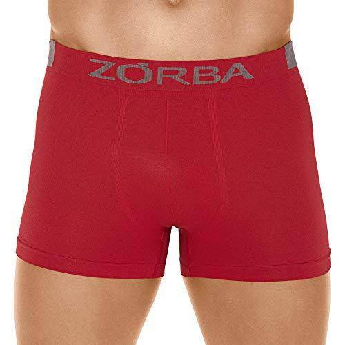 Cueca Boxer Microfibra Extreme,Zorba,Masculino,Vermelho,GG