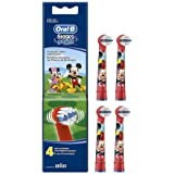 Oral-B Stages Power Replacement Toothbrush Heads Mickey Mouse 4 per Pack