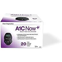4301258 PT# 3021 Test A1C Now HbA1c CLIA Waived 20 Count Box