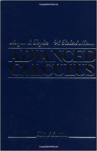 Advanced Calculus (3rd Edition)