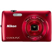 Nikon COOLPIX S4200 16.0 MP Digital Camera (Red)