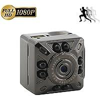 Mini Hidden Camera, Heymoko 1080P/720P Full HD 8 LED Infrared Night Vision Motion Detection Portable Sports Camera Home Surveillance Camera Nanny Cam