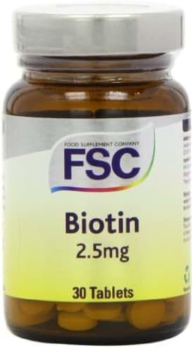 Fsc Biotin 2.5Mg 30 Tablets