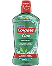 Colgate Plax Antibacterial Alcohol Free Bad Breath Control Mouthwash Freshmint 1L