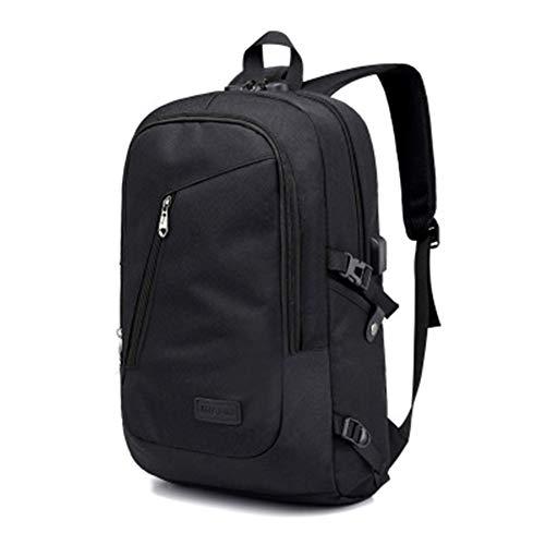 CRZJ Trekkingrucksack Wasserdichter Rucksack, Anti-Diebstahl-Rucksack mit multifunktionalem USB-Laderaum, Geeignet für Reisen und Outdoor-Sportarten