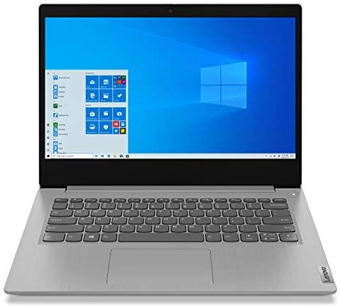 "Lenovo IdeaPad 3 Laptop tenth Gen i5-1035G1, 14"" HD 1080p, 8GB DDR4, 512GB SSD Win 10 Home- Platinum Grey"