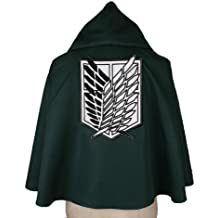 Attack on Titan Scouting Legion cloak cosplay costume anime (japan import) by Eli beauty