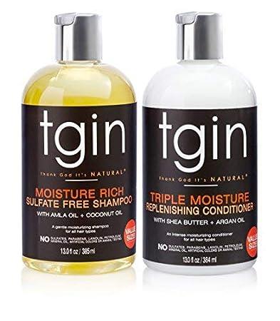 healthy shampoo and conditioner