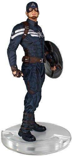 Captain America Statue - Captain America The Winter Soldier Stealth Version by Gentle Giant