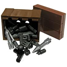 BrickArms LEGO Custom Supply Crate Guns, Ammo, Grenades More!