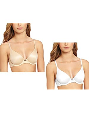 Women's Comfort Devotion 2 Pack T-Shirt Bras