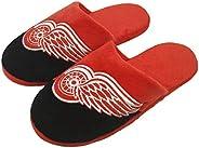 Detroit Red Wings NHL Giant Logo Slippers