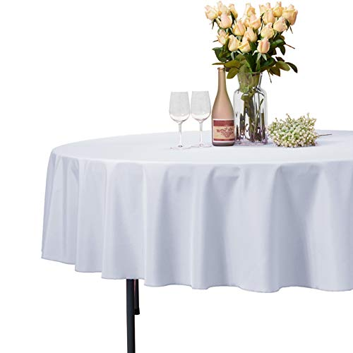 VEEYOO Rectangle Tablecloth - Polyester Table Cloth for 6 Foot Table - Soft Washable Oblong Table Cloths for Wedding, Parties, Restaurant, Dinner, Buffet Table and More