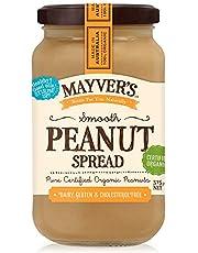 Mayver's Organic Smooth Peanut Spread 375 g