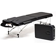 "Angel Aluminum 84""L Portable Massage Table Facial SPA Bed Tattoo w/Free Carry Case"