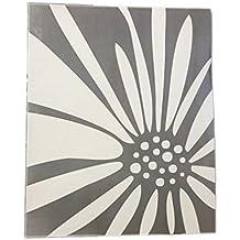 DiVoga Daisy Two Pockets Folder 715-943 | White and Gray | Office Depot