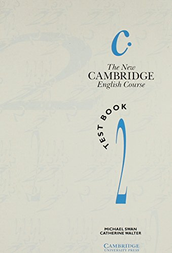 Download The New Cambridge English Course 2 Test book book pdf