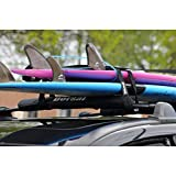 DORSAL Aero Crossbar Roof Rack Pads for Car