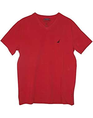 Men's Slim-Fit V-Neck T-Shirt
