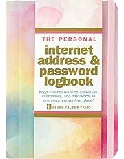 Watercolor Sunset Internet Address & Password Logbook