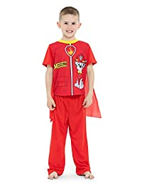 Paw Patrol Boys Marshall 2-Piece Uniform Set with Cape