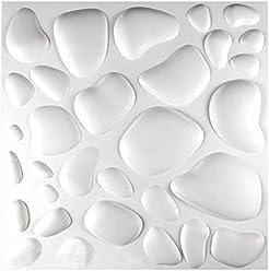 Paneele 3D Platten Wandpaneele 3D Wandplatten Wand Decke 62x80cm ARIELLA 1 m2