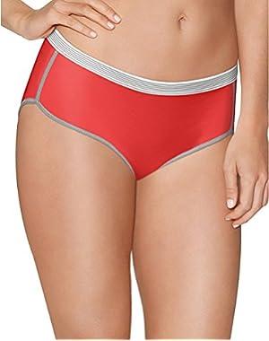 Hanes Women's Sport Comfort X-Temp Hipster Panties Comfort 3-Pack