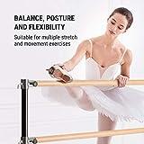 Klarfit Barre Double Ballet Bar, Free-Standing