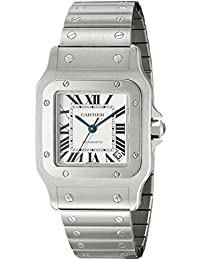 Mens W20098D6 Santos de Cartier Galbe XL Stainless Steel Automatic Watch