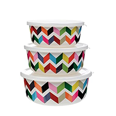 French Bull Storage Containers, Ziggy, Set of 3