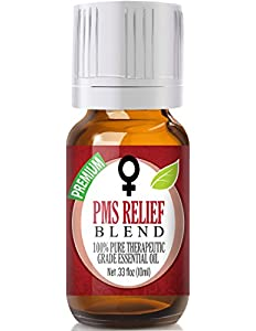 PMS Relief Essential Oil Blend 100% Pure, Best Therapeutic...