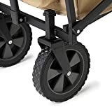 Seina Manual 150 Pound Capacity Folding Steel Wagon
